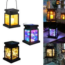Led Solar Lanterns Outdoor Hanging Waterproof Landscape Lights Table Garden Lamp