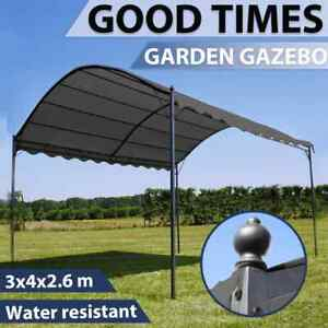 vidaXL Sunshade Awning Anthracite Outdoor Canopy Garden Patio Porch Gazebo