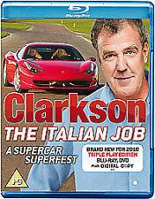 Clarkson: The Italian Job [Blu-ray] [Region Free], Good DVD, Jeremy Clarkson,