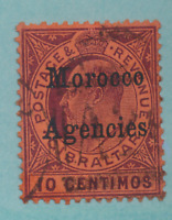 Great Britain, Offices In Morocco Stamp Scott #21, Used