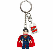 LEGO DC UNIVERSE SUPER HEROES SUPERMAN Key Chain Key Ring XMAS STOCKING FILLER