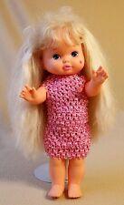 "Vintage Mattel 1988 Lil Miss Makeup 13"" Blonde Hair Heart on Cheek and Ears"