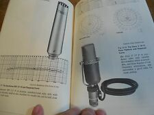 45 year old AUDIO BOOK gives cool vintage microphone, mixer, analog tape DETAILS