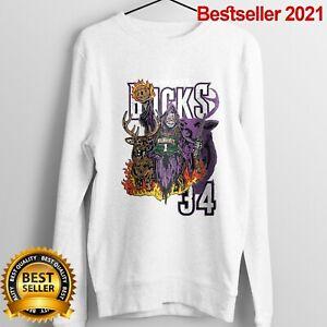 Milwaukee Bucks sweatshirt Funny Birthday Unisex Shirt Vintage For Men Women Hot