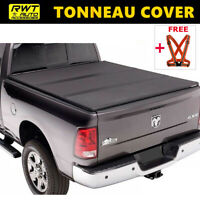 Lock Tri-Fold Hard Solid Tonneau Cover Fits 2004-2020 Ford F-150 5.5ft Short Bed
