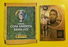 Panini Cards Special PELE' - the KING of Football + sealed packets brasil editio