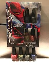 OPI Nail Lacquer - MINI THE AMAZING SPIDER-MAN  (4pcs x 3.75ml)