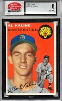1954 Topps AL KALINE RC #201 SGC 6 EX/NM Tigers Hall of Fame Rookie Card