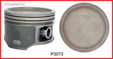 Engine Piston Set ENGINETECH, INC. P3073(6).75