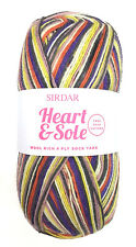 SIRDAR Heart & Sole Wool Rich 4 Ply Sock Yarn Color 161