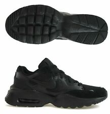 Nike Air Max Fusion Mens Casual Bubble Trainers Running Shoes Triple Black Sport