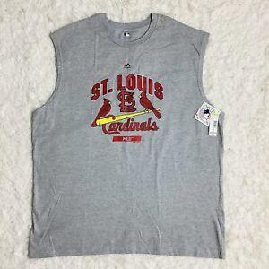 NWT ST. LOUIS CARDINALS Size 3XL MLB BASEBALL SLEEVELESS TANK TOP