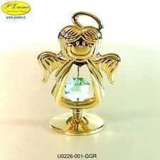 ANGIOLETTO GOLD CRYSTOCRAFT SWAROVSKI ELEMENTS IDEALE PER BOMBONIERE