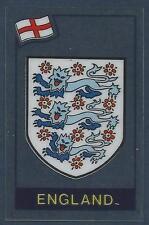 PANINI FOOTBALL SUPERSTARS 1984 -ENGLAND BADGE