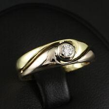Eleganter Brillant Ring 0,10 ct. Wesselton IF (graviert)