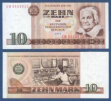 DDR 1971 10 marchi SERIE XM casse freschi ro.359 D/p.28br
