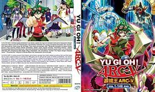 ANIME DVD~Yu-Gi-Oh!Arc-V(1-148End)English sub&All region FREE SHIPPING+FREE GIFT