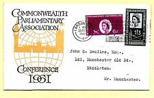 """1961 (C88) PARLIAMENTARY CONFERENCE """"LONDON SW1 + SLOGAN VERY FINE TYPED ADDRES"""