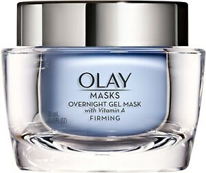 Olay Masks Firming Overnight Gel Mask with Vitamin A - 1.7 fl oz
