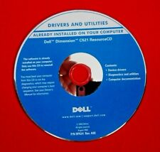 Dell Dimension C521 Software Resource CD Drivers Diagnostics and Utilities