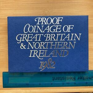 Proof Coinage of Great Britain & Northern Ireland 1982 Royal Mint Set