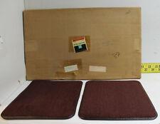 NEW OEM Rear Twin Floor Mats Carpet Color Claret 1982-1988 Monte Carlo (FB5)