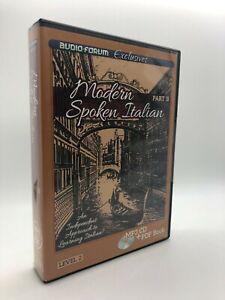 Modern Spoken Italian Part B (PC/MAC) by Audio-Forum