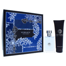 """Versace Pour Homme for Men - 2 Pc Set 3.4oz EDT Spray, 5.0oz Hair & Body Shampo"