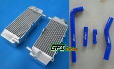 Aluminum Radiator + hose for Yamaha YZ250F WR250F YZF250 2001-2005 2002 2003 04