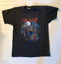 1985 Tour Slayer T-Shirt 80s Thrash Heavy Metal Metallica Original Super Rare!