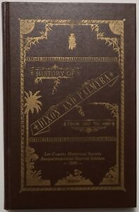 HISTORY OF DIXON AND LEE COUNTY ILLINOIS Ltd Edition Scarce HB Genealogy