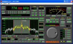 Winradio G315e External Receiver