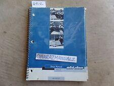 2001 SKI DOO Mini Z Snowmobile Service Manual OEM