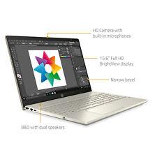 """NEW HP 15.6"""" FHD i5-1035G1 3.6GHz 8GB DDR4 512GB SSD + 32GB Optane Lunar Gold"""