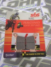 SBS Off Road RACING Sinter Rear Brake Pads for KTM SX150 2009-2017 NEW