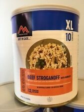 Moutain House Freeze-Dried Beef Stroganoff Emergency Food #10 Can 1 Pack