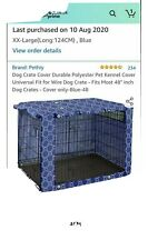 48 Inch Dog Crate Cover