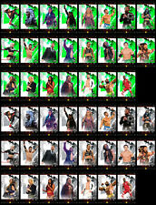 Topps WWE Slam '20 Fire Green + Onyx Base Full 46 card set --DIGITAL--