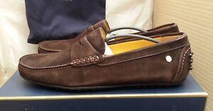 Fairfax & Favor Men's Monte Carlo Driver Shoes - Chocolate - UK 10/EU 44