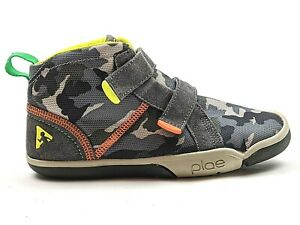 Plae Shoes Youth Max Camouflage Sneakers Boots Size US 2