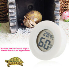 F515 White Moisture Meter Durable Home Hanging Hole Temperature Gauge