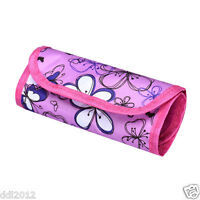 Floral Crochet Hook Pouch Knit Crocheting Needle Case Holder Organizer Bag New
