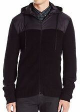 Kenneth Cole REACTION Men's Marled Chunk Hooded Sweater XL           (A-1)