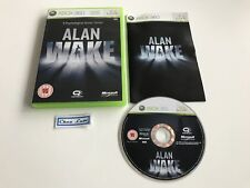 Alan Wake - Microsoft Xbox 360 - UK - Avec Notice