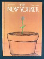 COVER ONLY ~ The New Yorker Magazine, April 4, 1977 ~ Robert Tallon