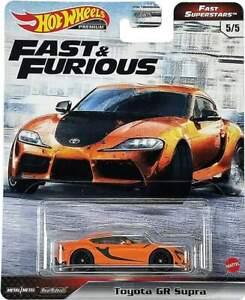 Hot Wheels Premium Fast & Furious Toyota GR Supra