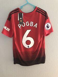 Manchester United Pogba Jersey Small