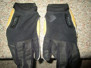 TREK Performance Cycling Gloves  Leather LARGE