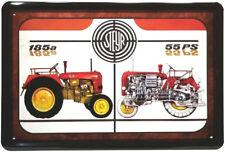 Reklame Blechschild 20x30 Steyr 55 PS Diesel Traktor 185 a Österreich Wien