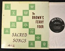 Grandpa Jones The Brown's Ferry Four King 551 Sacred Songs CLEAN ORIGINAL